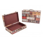 Wooden Suit Cases Nested Set of 2 - OREGON PLATES