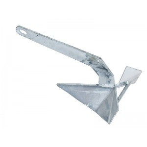 Boat Anchor Delta Style 4Kg Galvanised 5-7m Craft