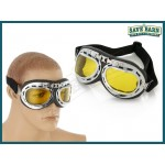 Karting Goggles Classic Style - Yellow