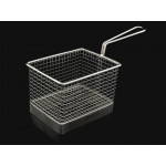 Basket Food Holder Bistro/Chip Basket with Handle Rectangle AVANTI