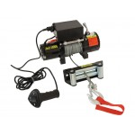 WINCH 12V 5000lb 4-Way Roller Fairlead