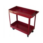 Steel Tool Cart - Mobile 2 Tier Trolley
