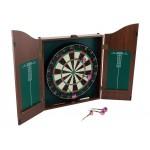 Dartboard with Cabinet - Bristle Dart Board