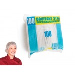 Food Safety Disposable Hygiene Bouffant Caps 100