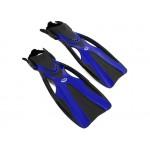 Dive Fins SEA HARVESTER F81 Flippers Open Heel Blue L/XL