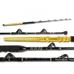 """Game Fishing Rod 5'6"""" 37Kg with Roller Guides"""