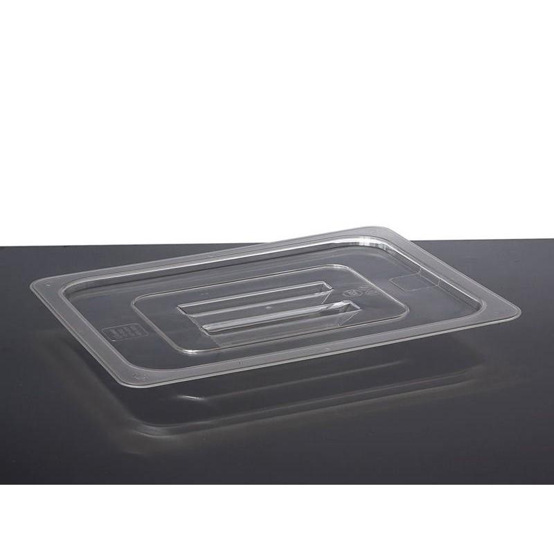 Nisbets Essentials Polypropylene 1/2 Gastronorm Lid Clear