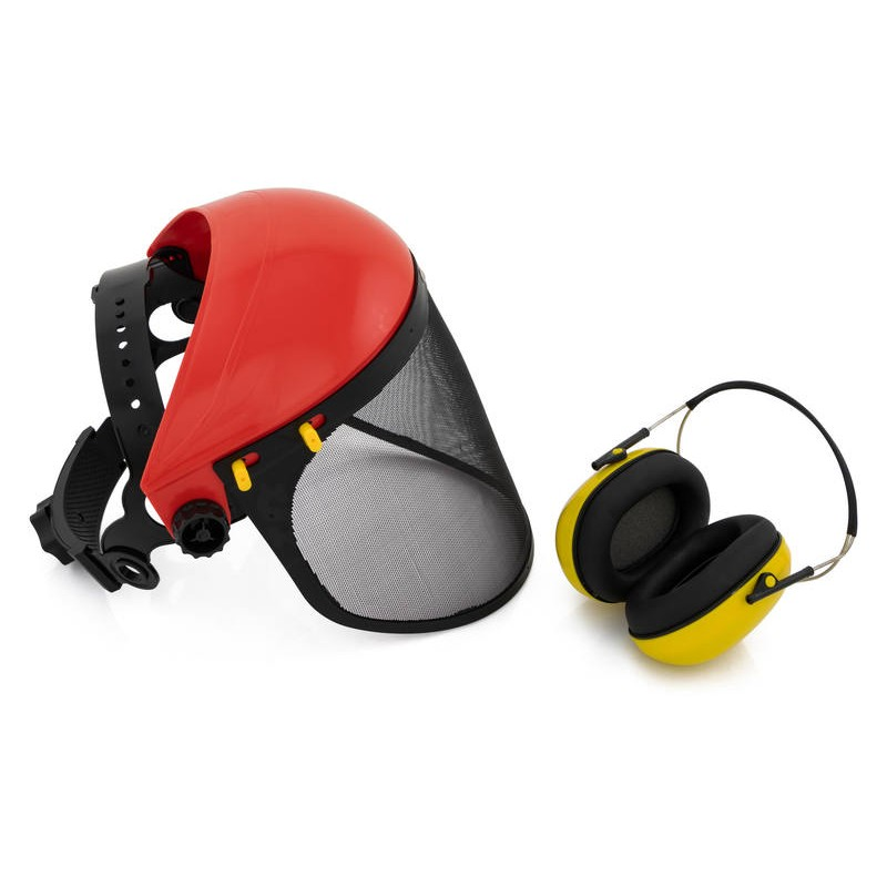 Safety Visor Protective Face Eye Amp Earmuffs