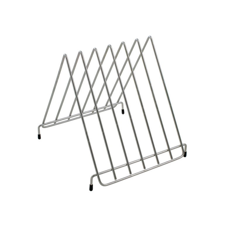 Chopping Board Stand Stainless Steel Holder Rack