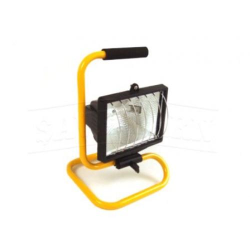 Rolson 400w Heavy Duty Halogen Work Light Portable Garage: Workshop Light 240V 500W Flood Lamp