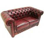 Leather Couch 2 Seater 100% Genuine Leather