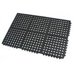Rubber Floor Mat Commercial Interlocking 60x90CM