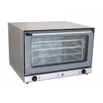 Stainless Steel Commercial Convection Oven 4 Shelf