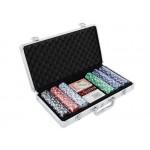 Poker Set Chips 300pc Chip Cards Case