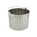 28L Boil Steam Blanch Basket 201 Stainless Steel