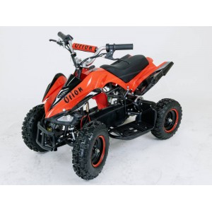 Electric Quad Bike Kids 36v 800W Mini Off-Road - Red / Black