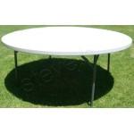 Table Folding White Round 1.8M LARGE