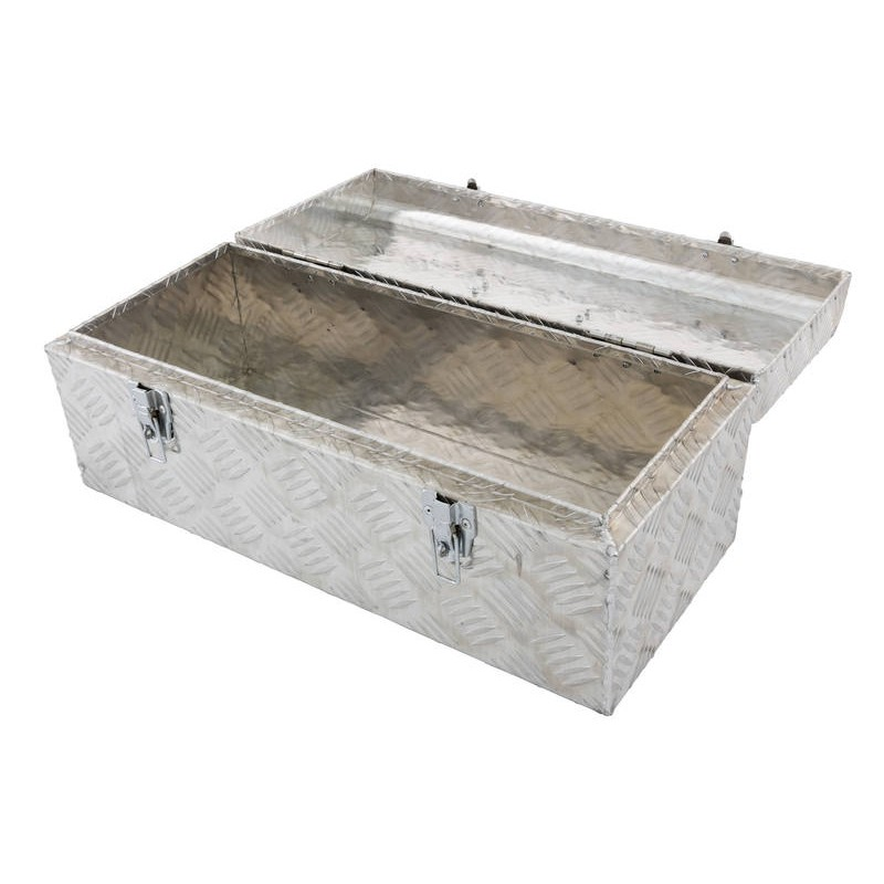 Tool Box Aluminium Chequer Plate 575mm