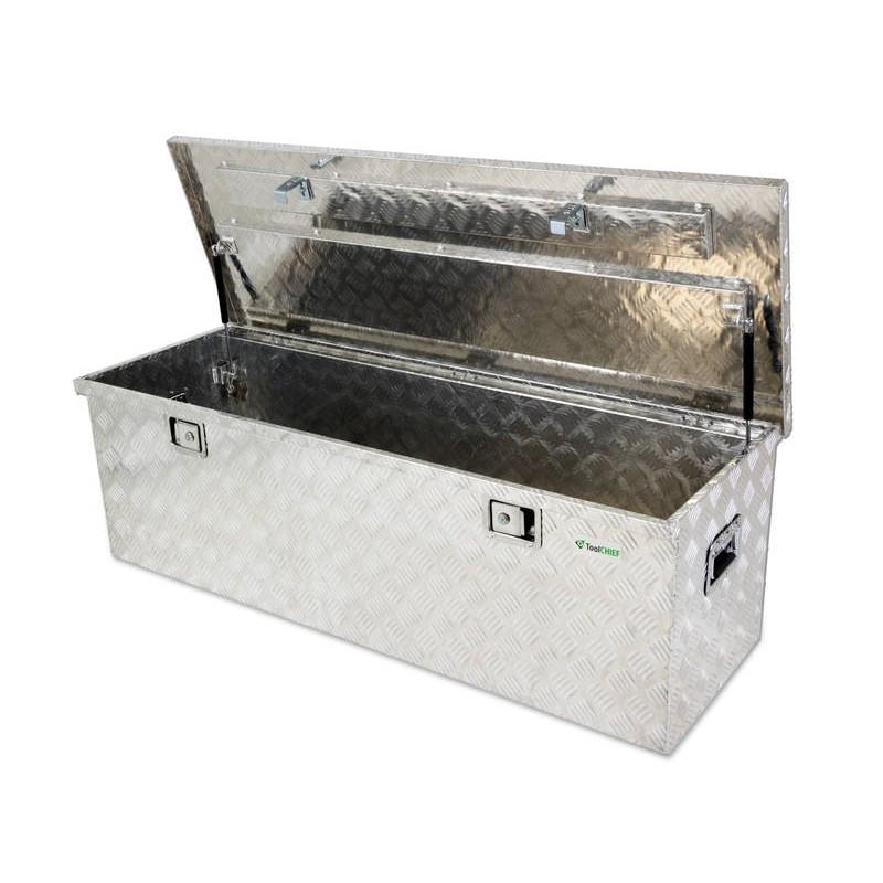 Tool Box Aluminium Chequer Plate 1 4m 260l