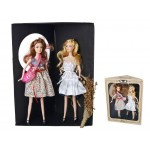 Fashion Dress-Up Doll Set with Two Dolls