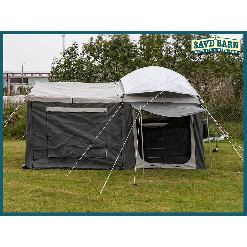 Camping Trailer 6x4 With 7ft 14oz H D Tent