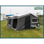Camping Trailer 6x4 with 7ft  /14oz H/D Tent