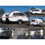 Caravan Body / Shell Road Chief Teardrop Caravans