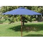 Umbrella Sun Market Umbrellas 3M Blue