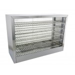 Hot Food Display Cabinet Unit Pie Warmer 1500W
